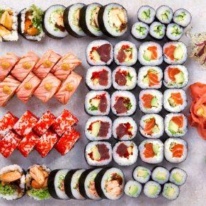 Pan Rest - sushi
